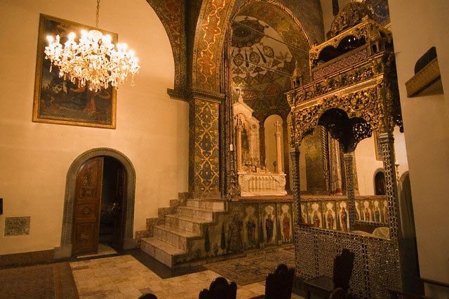 Interior of the Ejmiatsin Cathedral