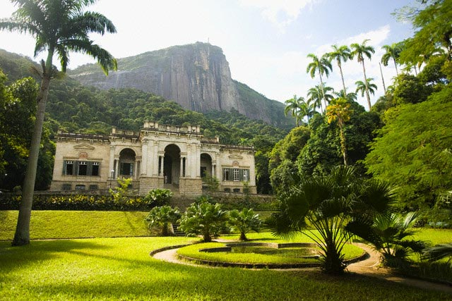 Mansion and Grounds at Parque Lage