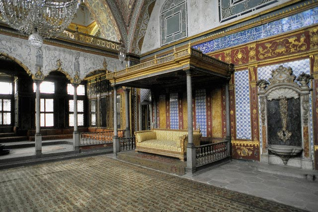 The Emperor's Chamber in the Topkapi Palace