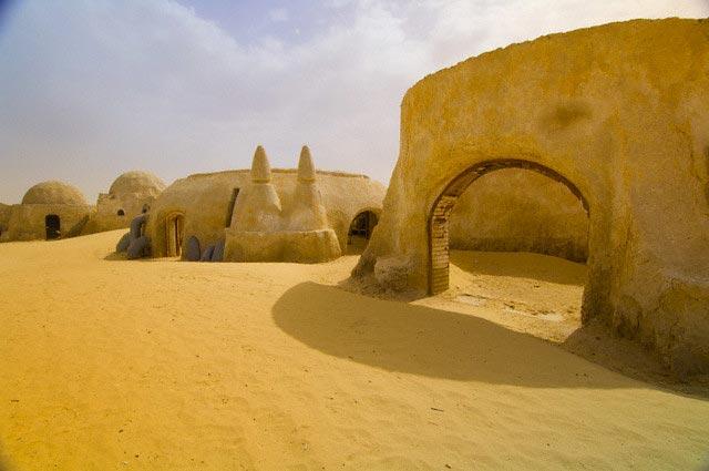 Star Wars Movie Set in Ong El Jemel