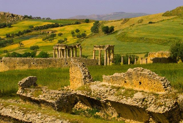 Ruins at Temple of Caelestis