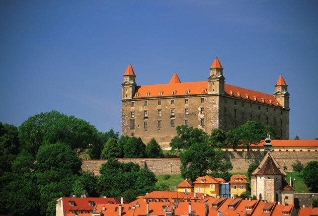Castle and Old City Rooftops