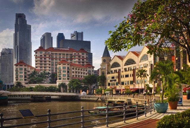 Riverside Point Along Singapore River
