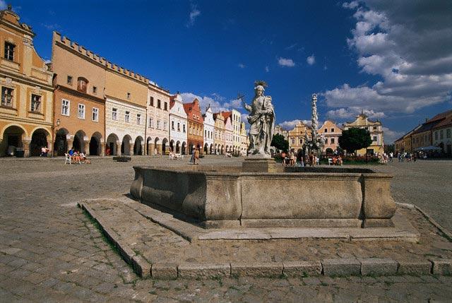 Town Square in Moravia