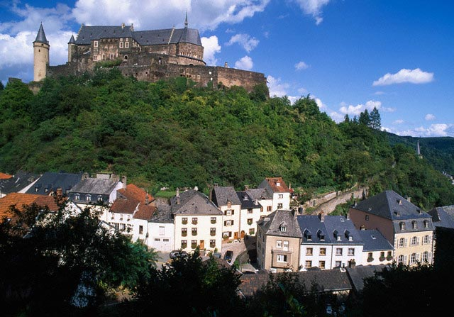 Vianden Town and Castle