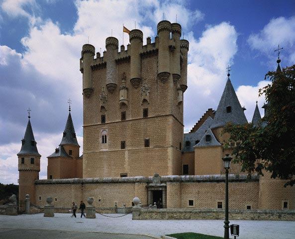 Alcazar at Segovia