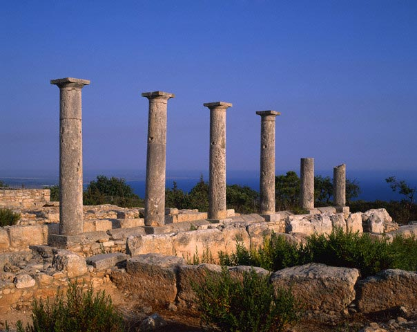 Ruins of the Temple of Apollo Hylates