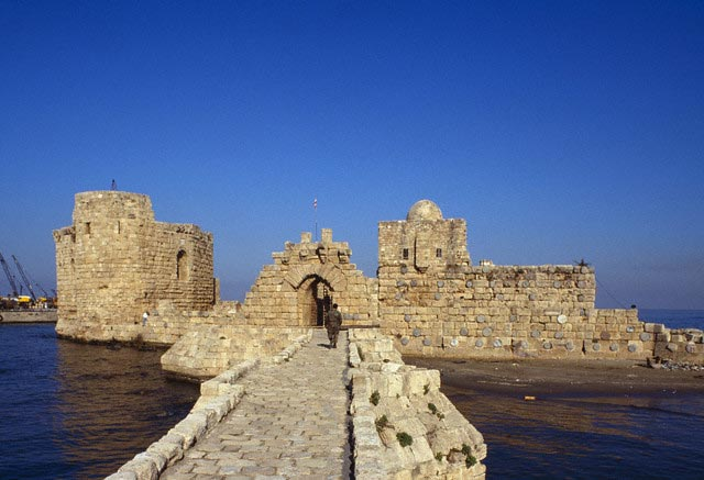 Bridge to Sidon Sea Castle