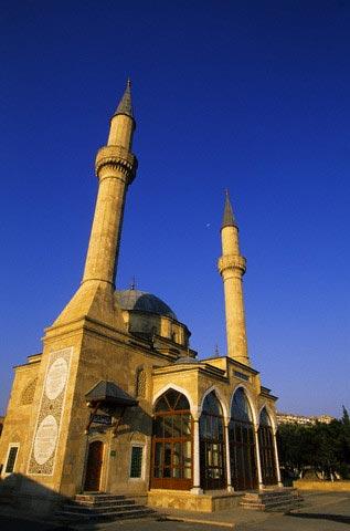 Turkish Mosque in Baku