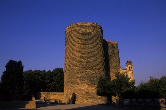Maiden's Tower in Baku