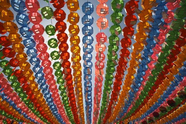 Paper Lanterns at Hangang River Park