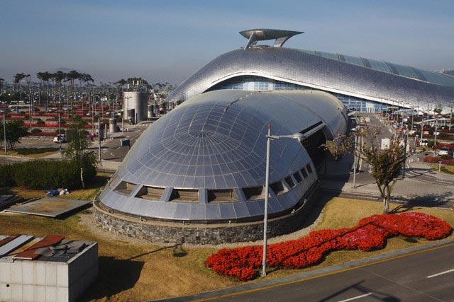 Rail Station at Incheon International Airport