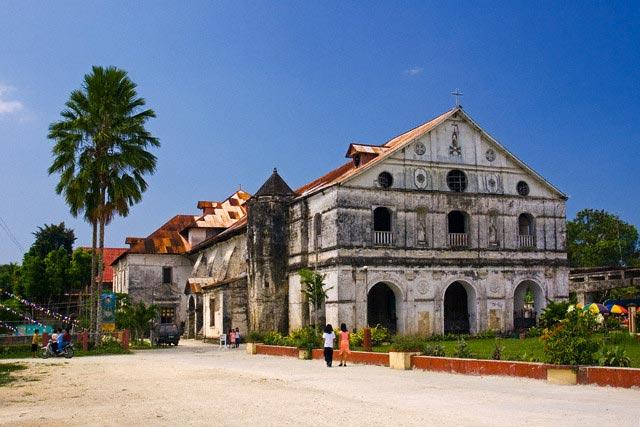 Loboc church in Loboc, Bohol, Philippines