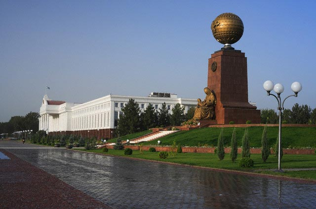 Government offices, Independence square, Tash