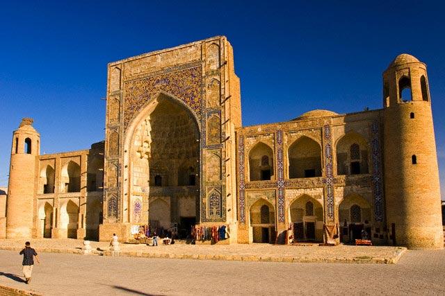 One of Bukhara's many Madrassah, Bukhara, Uzb