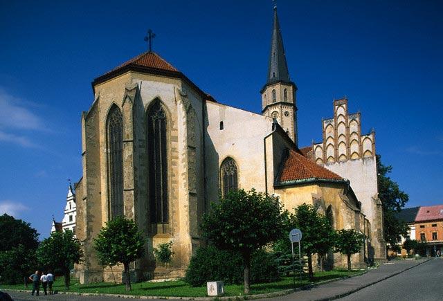 Apse of Sv. Jakub Church in Levoca