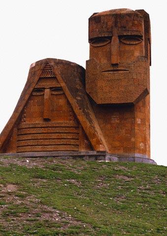 Statue Symbolizing Azerbaijani Republic