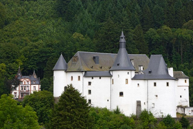 The Castle of Clervaux and Hotel du Parc