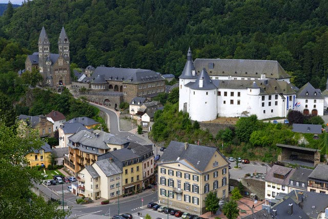 View of the Town of Clervaux