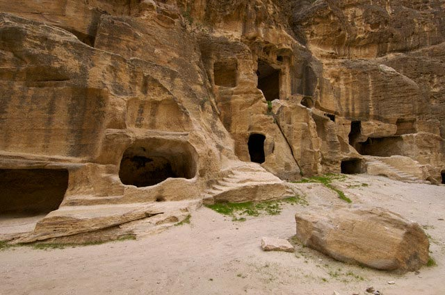 Rock-Cut Tombs in Petra