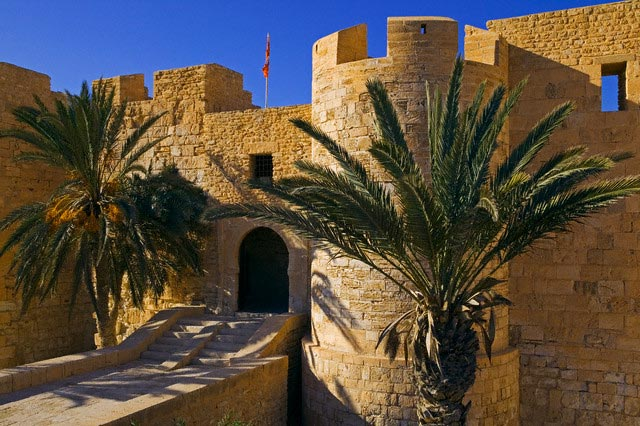 Houmt Souk town, old fort of Borj Ghazi Musta