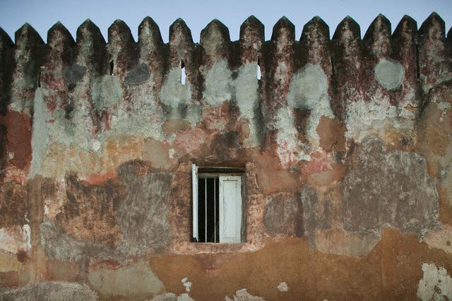Wall at Fort Jesus