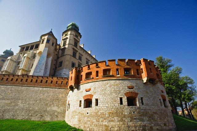 The Royal Castle on Wawel Hill
