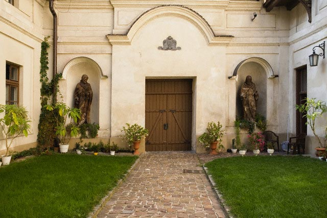 Courtyard and Doorway