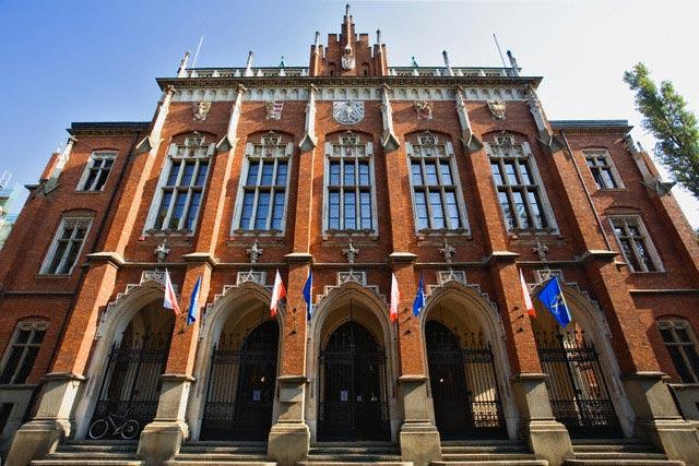 Facade of the Collegium Novum