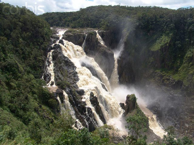 Barron Falls Flowing During the Wet Season