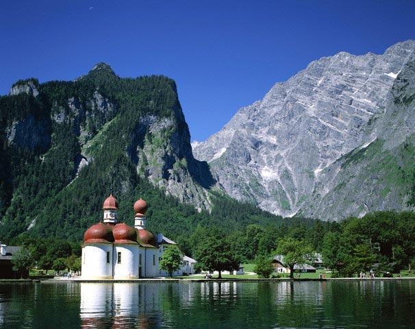 Saint Bartholoma Chapel by Lake