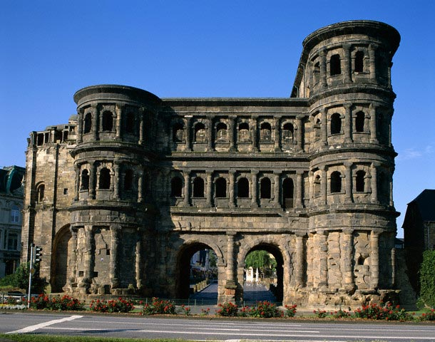 Roman-Built Porta Nigra (Black Gate)
