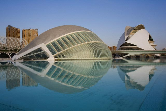City of Arts and Science Park in Valencia