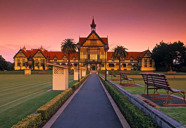 Museum of Art and History in Rotorua