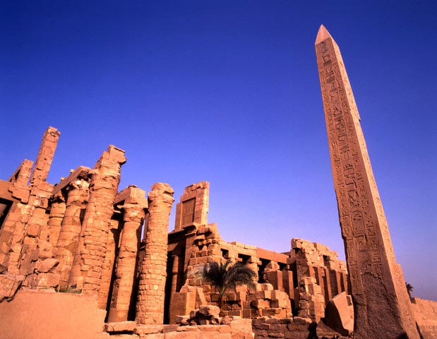 Obelisk at Karnak Temple Complex