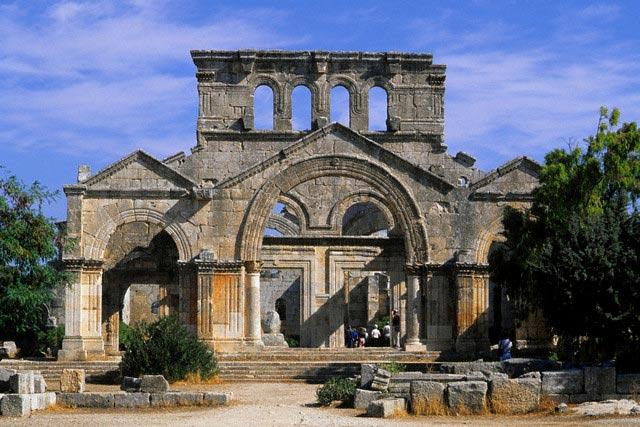 St. Simeon Basilica in Syria