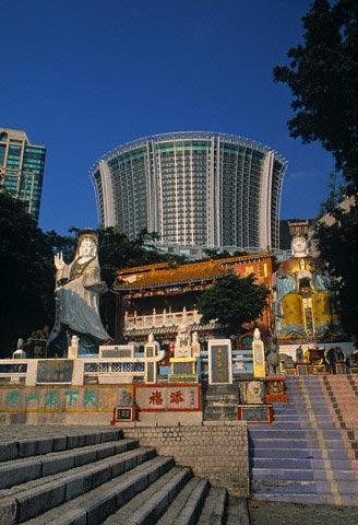Tin Hau Temple, Repulse Bay, Hong Kong, China