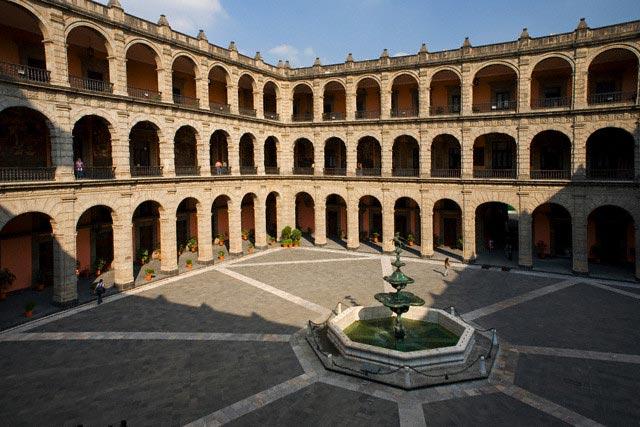 Palacio Nacional, Mexico City, Mexico