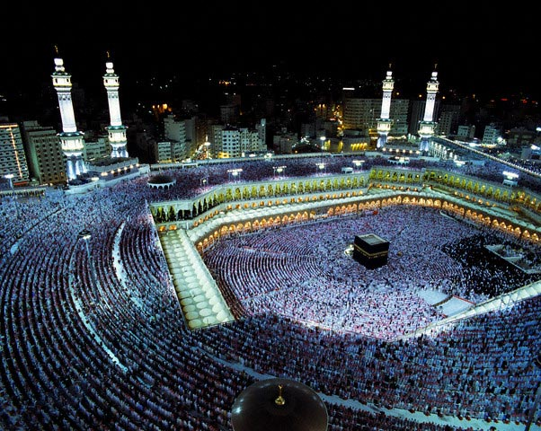 Laylat al-Qadr Celebrated in Mecca
