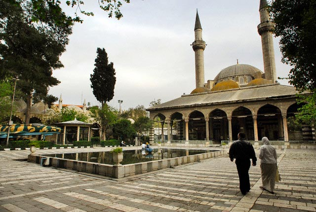 Syria - Travel - Damascus - Mosque built by S