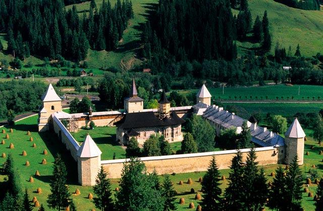 Monastery in Romania
