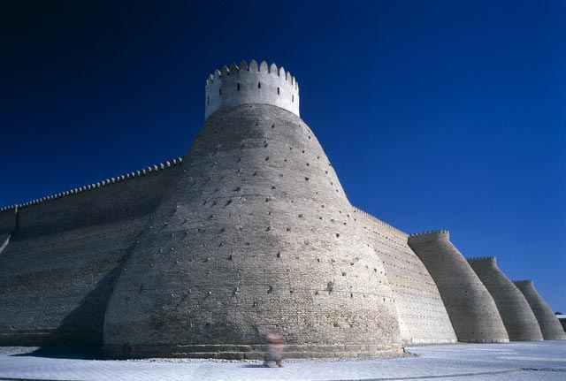 Circular Bastions of the Ark