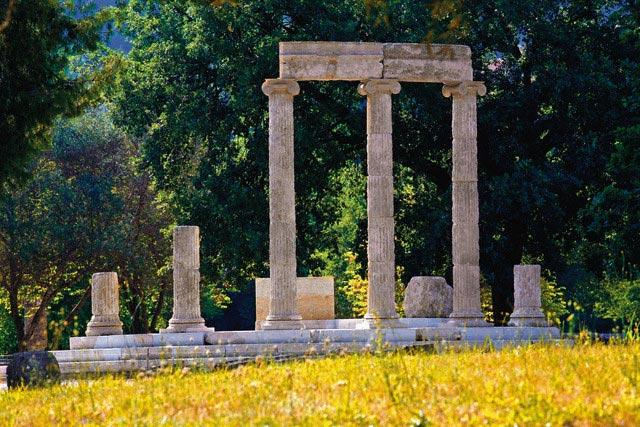 Ruins of the Philipeion