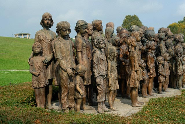 Memorial to Child Victims at Lidice
