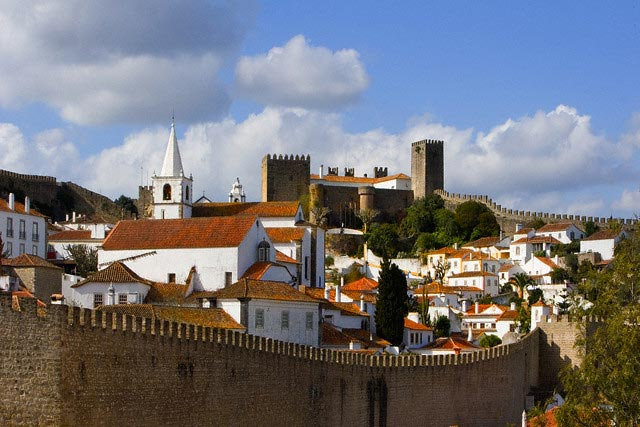 View of Obidos