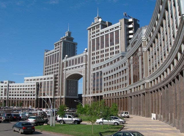 Kazakhstan - Headquarters of Kazakh State-Own
