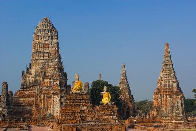 Wat Chai Wattanaram, Ayutthaya, Thailand
