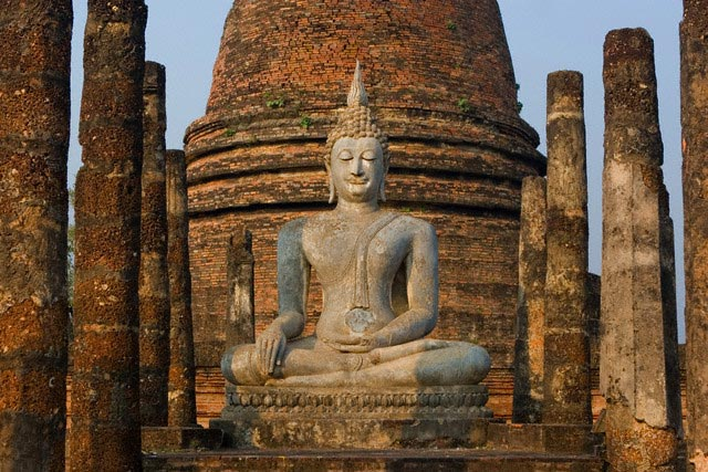 Wat Sra Si/ Wat Sa Si, Sukhothai Historical P