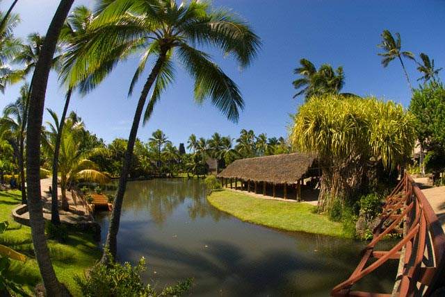 Canal Through the Polynesian Cultural Center