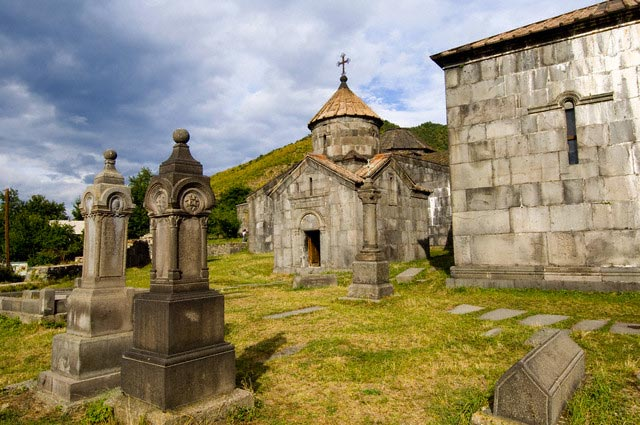 Cemetery at Haghpat Monastery